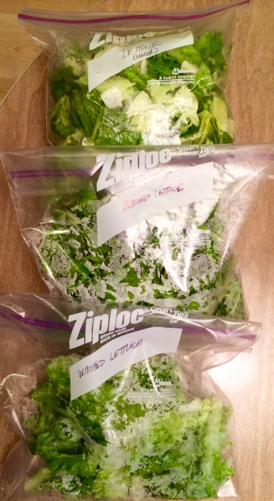 Lettuce-bags