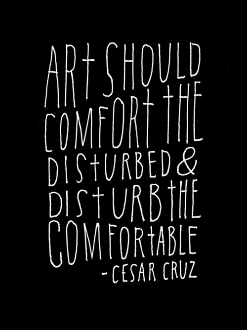 art-comfort-disturb