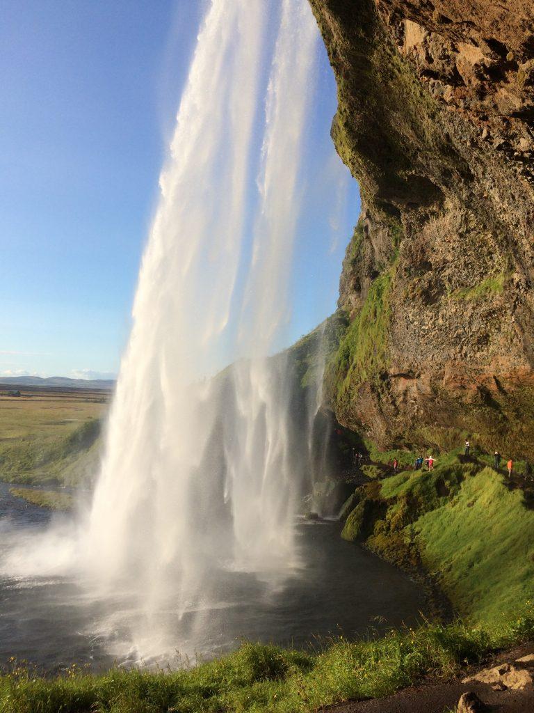 Iceland - Behind Seljalandsfoss