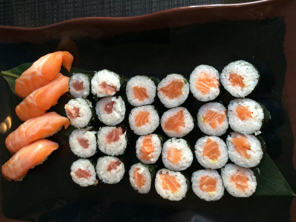 Iceland - char & sushi
