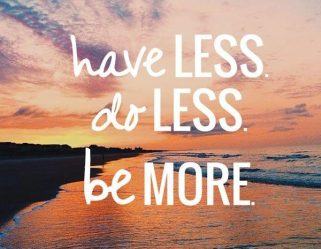 Do Less with Less