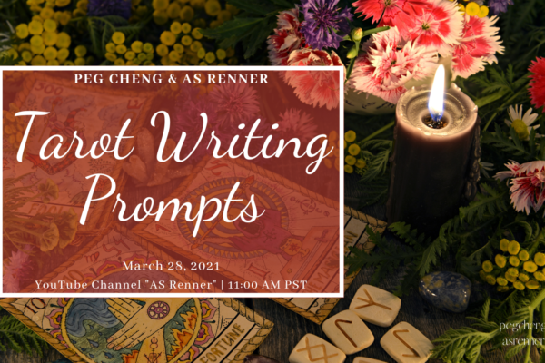 Tarot Writing Prompts workshop on March 28, 2021