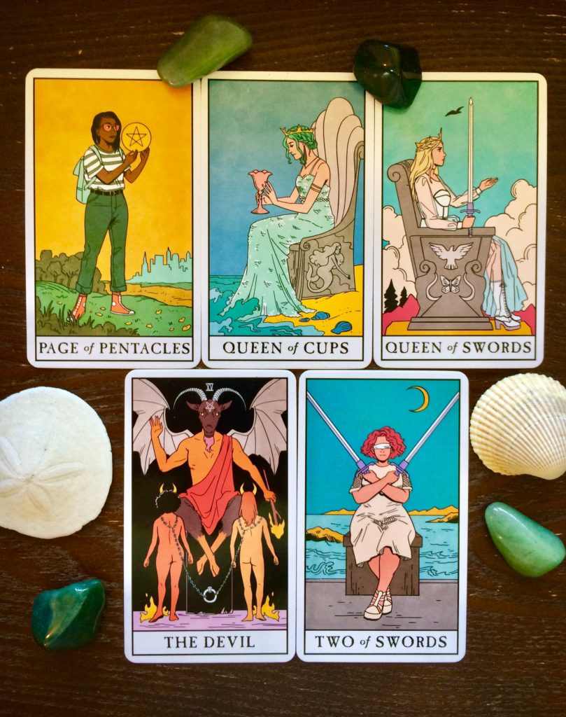 Tarot touchstone by Peg Cheng for June 2021