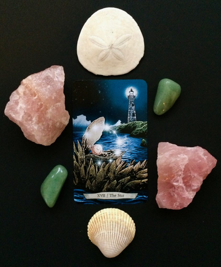 The Star card from the Animal Totem Tarot
